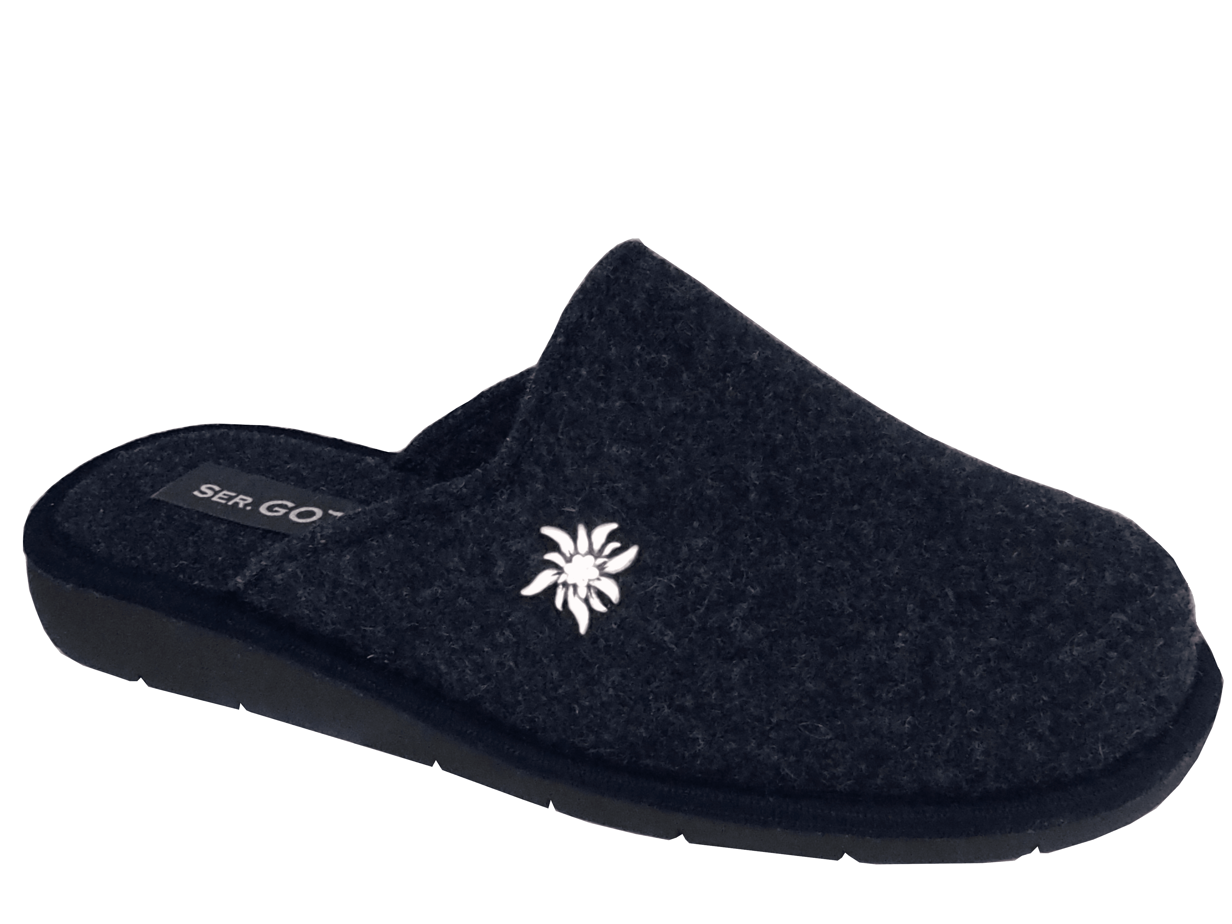 Men's Home Slippers Winter Warm Leather